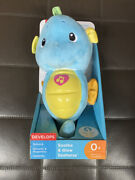 Fisher-price Soothe And Glow Seahorse, Blue New In Box On Sale