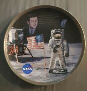 The Eagle Has Landed Apollo 11 Commemorative Plate From The Bradford Exchange.