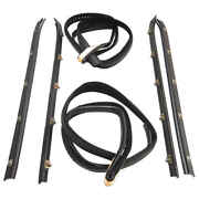 Sweep Belt And Window Channel Kit For 73-80 Chevy And Gmc Pickup, Blazer And Suburban