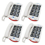 Clarity Jv35 Big Button Amplified Corded Phone With T-coil Technology And Ringer C