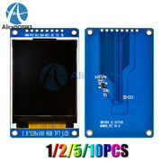 1-10pcs 1.8'' Tft Full Color Lcd Display Module 128x160 Spi St7735s For Arduino