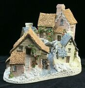 Brookside Hamlet - David Winter Cottage Collection - Retired 1991/mint Condition