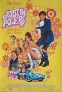 Austin Powers Limited Edition Print Signed Paul Mann R2020 Mike Myers 24x36