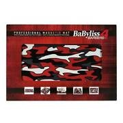 Babyliss Professional Magnetic Barber Mat W/ Magnet Strip For Clipper And Trimmers