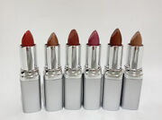 Vintage Lot Of 6 Fran Wilson Fw Lip Classics Cream And Gel Kiss Champagne Ice Nos