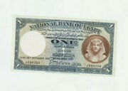 Egypt 1938 One Egyptian Le R.d/ Date Fancy N. Coox J/31/888288 Exf/au Cat=300