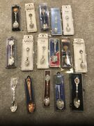 Lot Of 16 Collectors Spoons In Original Packaging/box Nanco Nypd