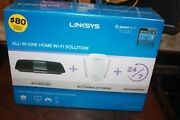 Linksys F5z0636 All-in-one Wifi Solution W/ Ac1750 Router And Ac1200 Extender Nib