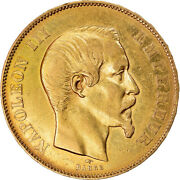 [891743] Coin France Napoleon Iii 50 Francs 1855 Paris Ef40-45 Gold