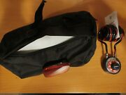 Bicycle Storage Bag W/ Reflector And Master Bicycle Lock W/ Original Combination