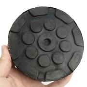 4pcs Round Heavy Duty Car Truck Post Lift Arm Pads Pinch Weld Frame Rubber Disk