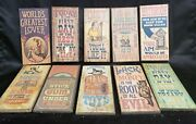 Lot No. 2 Of 10 Wallace Berrie Co. Vintage Funny Novelty Man-cave Bar Signs