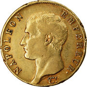 [902554] Coin France Napolandeacuteon I 40 Francs 1806 Paris Vf30-35 Gold
