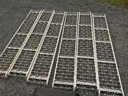 Lot Of 6 Ashland Conveyor Products Roller Conveyors 18 Wide X 10' Long
