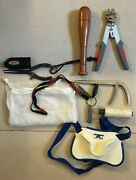 Rapala Pliers And Line Clipper Hook Remover Belt Rod Support And Others