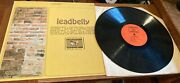 Vintage Leadbelly Vinyl Record-archive Of Folk Music-fs 202=some Scuffsuse-clas
