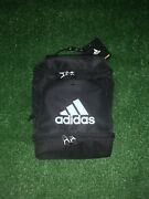 Adidas Insulated Double Zip Lunch Bag With Extra Storage Black Free Ship