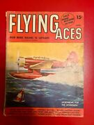 June 1941 Flying Aces Magazine Aviation Stories Wwii