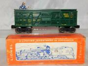 Boxed Lionel 3370 Sherrif And Outlaw Action Car Wanda Western And Atlantic Wells Fargo