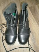 Ammo Boots Size 10l Wide Width Fitting British Army Issue New Slight Defect