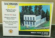 Bachmann Plus - Ho Scale 35107 Mikeand039s Feed And039n Seed Building Kit