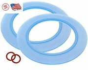 2 Pack Of American Standard Compatible Canister Flush Valve Seal Kit For Toilets