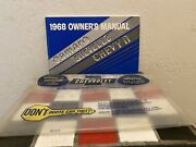 1967 Checrolet Camaro Chevelle Chevy Ii Owners Manual