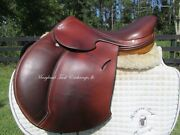 16/16.5 Hermes Essentielle Close Contact Child Jumping Saddle-newer Modelcover