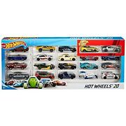 Hot Wheels 20-car Gift Pack Assorted 116 Scale Toy Vehicles Great Gift For Kids