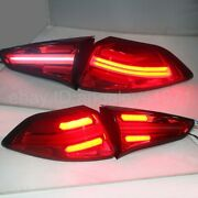 Led Rear Lights For Hyundai Tucson 2015-2018 Year Led Strip Tail Lamps Red Jy