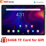 10 Inch Tablet Mtk Fast Cpu Android 9.0 Dual Camera 64gb Rom Gps Wifi Bluetooth