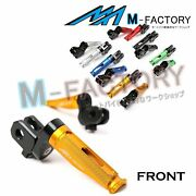 Front Racing Extended Foot Pegs Fit Kawasaki Versys Kle650 06-14 Z1000 03-13