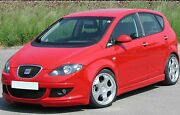 Seat Altea Je Design Bodykit And Stainless Steel Quad Exhaust Bausatz And Auspuff