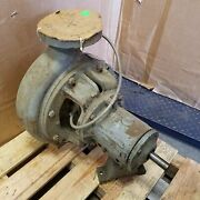 Duriron Size 6x4-13a/130 Pump. Mdp 285 Psi/100f Ansi- A80. Shaft Dia- 1-1/8