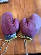 Vintage 1950s Hutch Childrenandrsquos Boxing Gloves-lot Of 4 2 Pairs Total-ships Free
