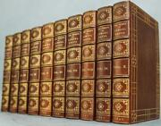 1902 Diary Of Samuel Pepys In Ten Volumes Full Leather Doublures Illustrated