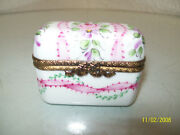 Limoges Perfume Case Box With 3 Perfumes 72/500