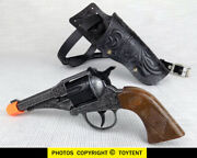 Cowboy Costume Cap Gun Edison Giocattoli Toy Pistol Italy With Holster And Belt