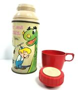 Beany And Cecil Thermos Vintage 1961 Bob Clampett Cartoon Thermos Brand Complete