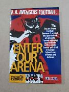 2003 Los Angles Avengers Afl Football Pocket Schedule