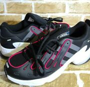 Adidas Original Eqt Gazelle Running Shoes Black Red Sneakers Menandrsquos Size 10