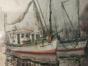 Authentic Painting By Richard E. William Art Dorothy W Signed Doc. By Artist