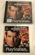 007 Tomorrow Never Dies Ps1 Psx Playstation Pal German Black Label Complete Rare