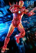 Iron Man 2 - Mark Iv Holographic Exclusive Action Figure Mms568 Hot Toys New