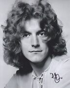 Robert Plant Hand Signed 8x10 Photo Autograph Led Zeppelin Latter Days Early E