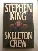 Skeleton Crew 1985 First Edition First Print 18.95 Putnam Dust Jacket And Cover