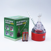 Red Electric 5.5andrsquoandrsquo Water Bottle Pipe Bong Hookah Electric Bubbler Usa