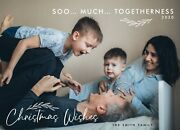Holiday Christmas Personalized Photo Card 2020 Pandemic So Much Togetherness