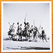 Stamped - George Rodger Hausa Chieftans Chad Africa 1941 6x 6 Magnum Print