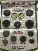 Genuine 13 Pcs Set Collection Of Memory Coins Of Korea Of Yi Dynasty